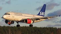 - - SAS - Scandinavian Airlines Airbus A319 aircraft