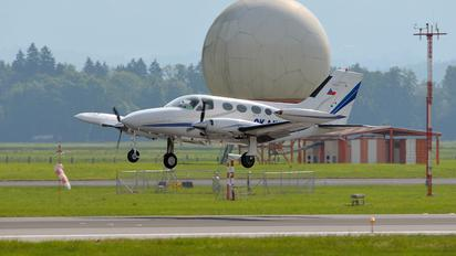 OK-AAV - Private Cessna 414