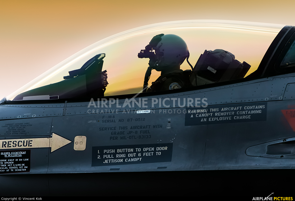 J-512 - Netherlands - Air Force General Dynamics F-16A