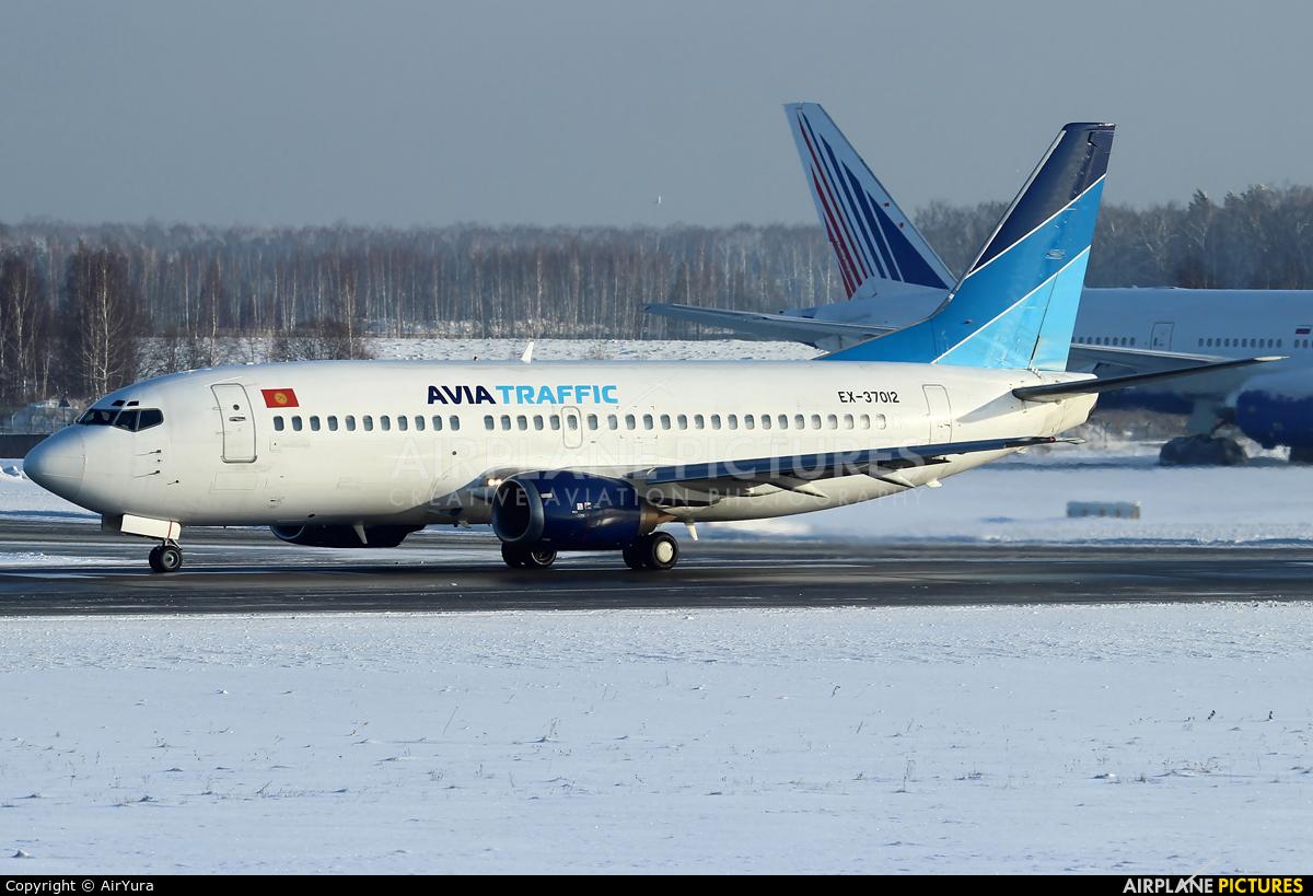 Avia Traffic Company EX-37012 aircraft at Moscow - Domodedovo