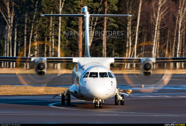 NoRRA - Nordic Regional Airlines OH-ATJ aircraft at Helsinki - Vantaa