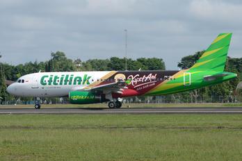 PK-GLC - Citilink Airbus A320
