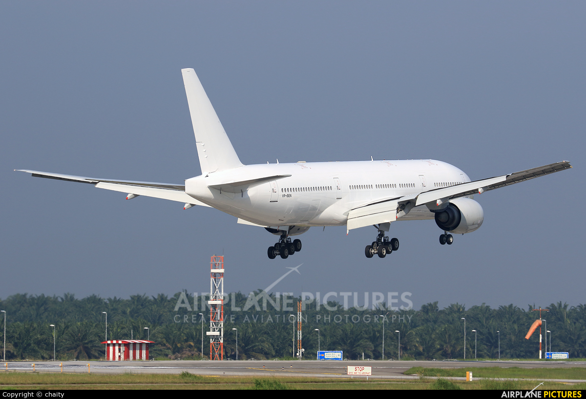 Unknown VP-BEN aircraft at Kuala Lumpur Intl