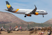 OY-TCE - Thomas Cook Scandinavia Airbus A321 aircraft