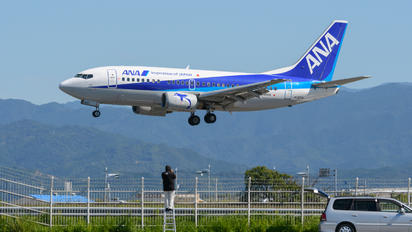 JA307K - ANA - All Nippon Airways Boeing 737-500