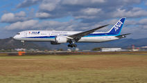 JA883A - ANA - All Nippon Airways Boeing 787-9 Dreamliner aircraft