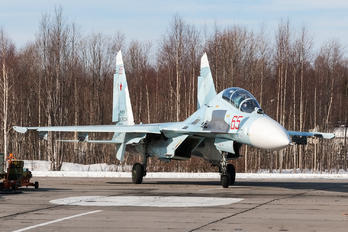 RF-90715 - Russia - Air Force Sukhoi Su-27UB