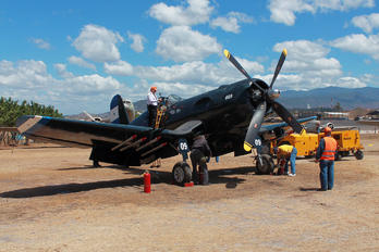 FAH-609 - Honduras - Air Force Vought F4U Corsair