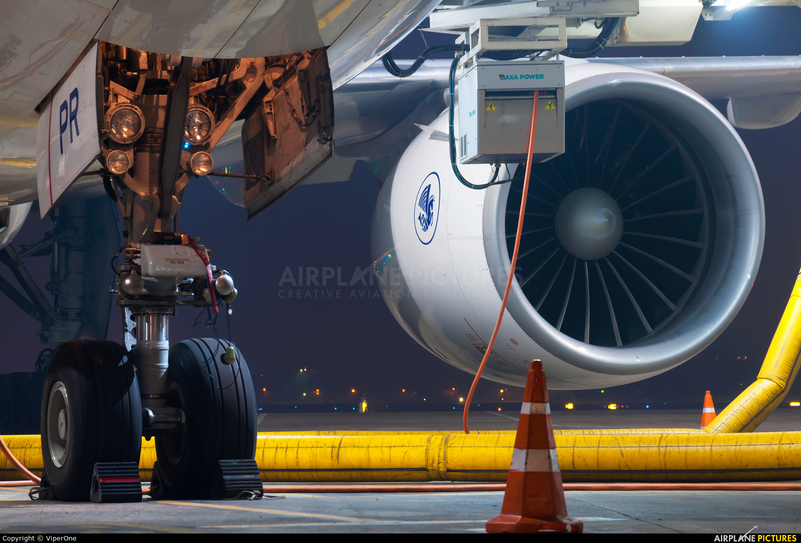 Air France F-GSPR aircraft at Mumbai - Chhatrapati Shivaji Intl