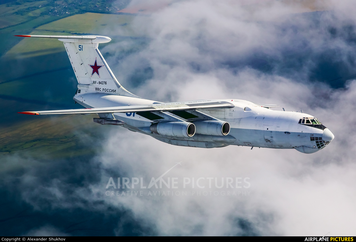 Russia - Air Force RF-94276 aircraft at In Flight - Russia