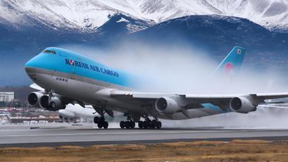 HL7601 - Korean Air Cargo Boeing 747-400F, ERF
