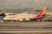 HL7626 - Asiana Airlines Airbus A380 aircraft