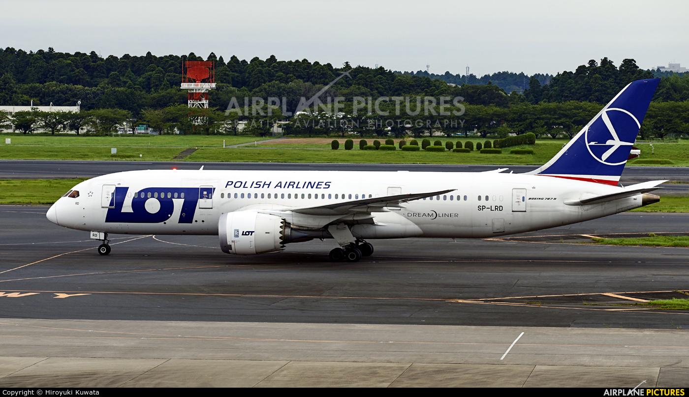 LOT - Polish Airlines SP-RLD aircraft at Tokyo - Narita Intl