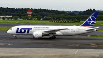 SP-RLD - LOT - Polish Airlines Boeing 787-8 Dreamliner aircraft