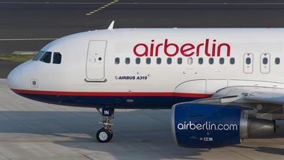 D-AHIN - Air Berlin Airbus A319
