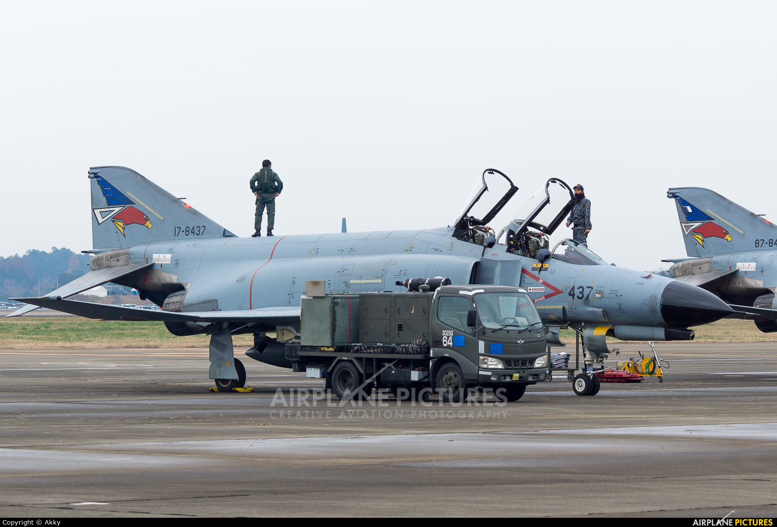 Japan - Air Self Defence Force 17-8473 aircraft at Ibaraki - Hyakuri AB