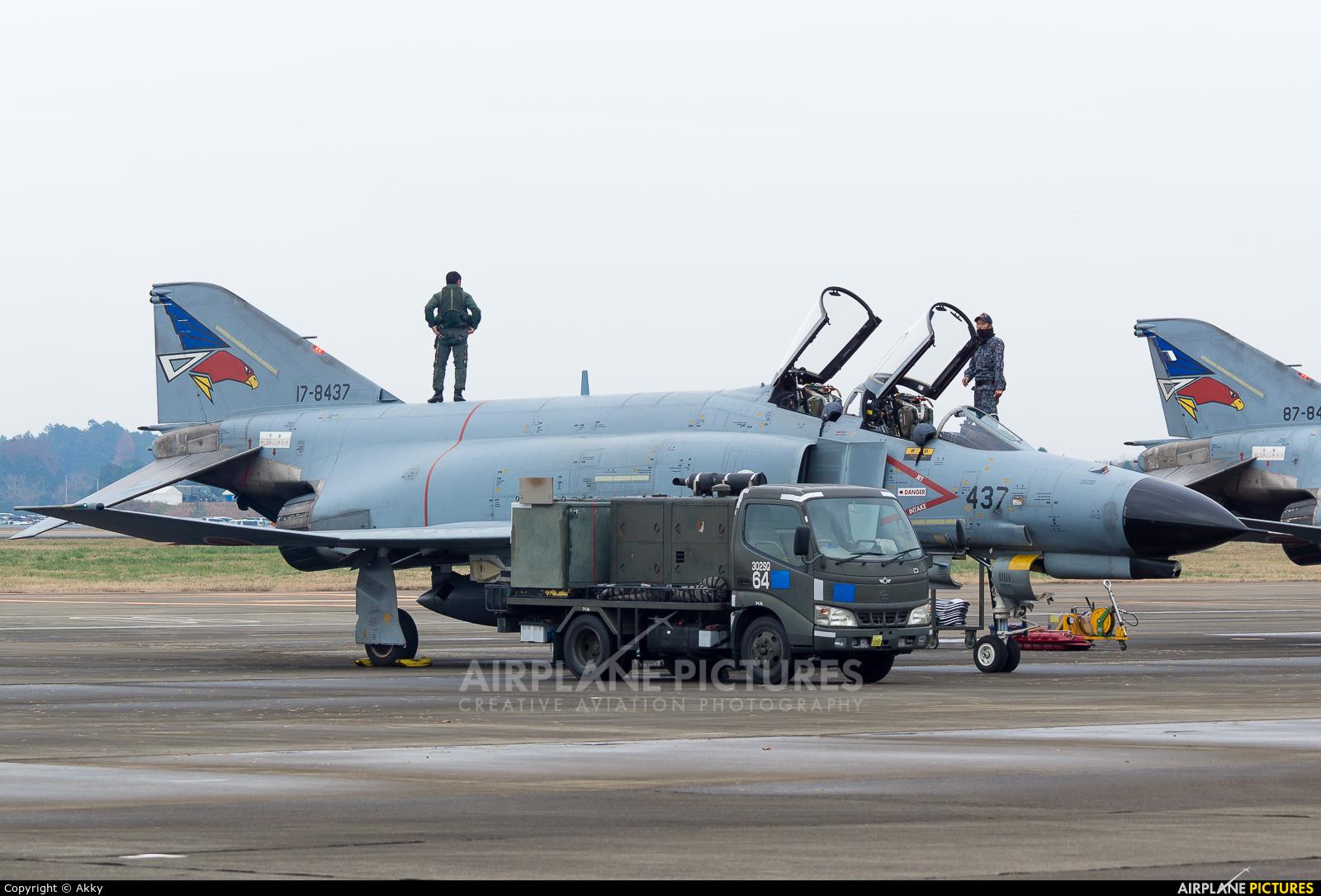 Japan - Air Self Defence Force 17-8473 aircraft at Ibaraki - Hyakuri AB