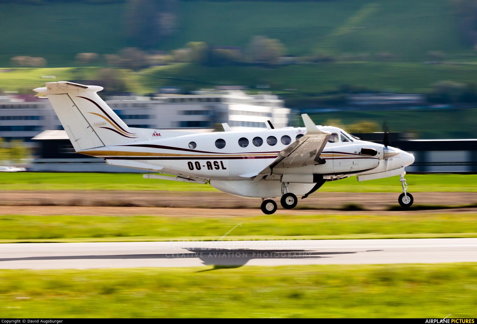 Air Service Liege OO-ASL aircraft at Bern - Belp