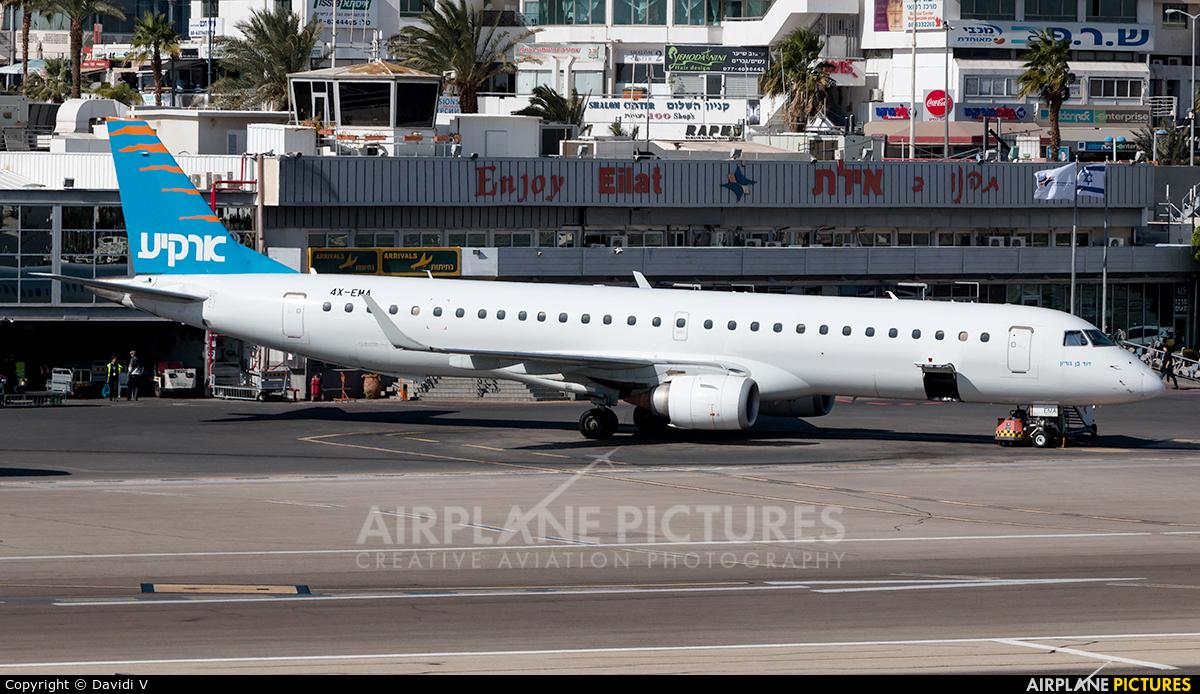 Arkia 4X-EMA aircraft at Eilat - J. Hozman