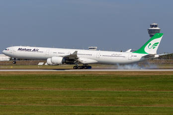 EP-MMF - Mahan Air Airbus A340-600