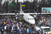 An-132 during roll-out ceremony title=