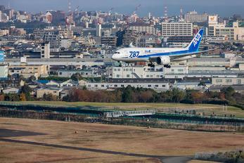 JA821A - ANA - All Nippon Airways Boeing 787-8 Dreamliner