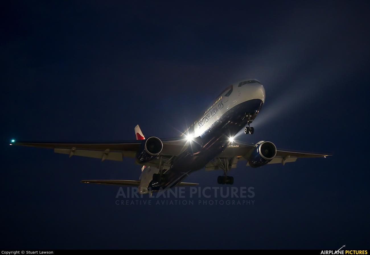 British Airways G-BZHA aircraft at London - Heathrow
