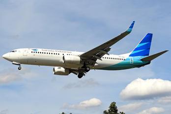 PK-GNA - Garuda Indonesia Boeing 737-800