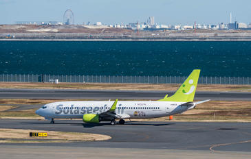 JA803X - Solaseed Air - Skynet Asia Airways Boeing 737-800