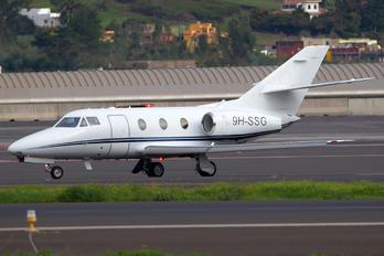 9H-SSG - Hyperion Aviation Dassault Falcon 10