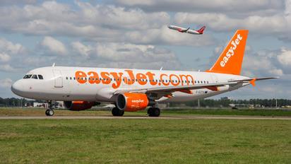 G-EZTX - easyJet Airbus A320