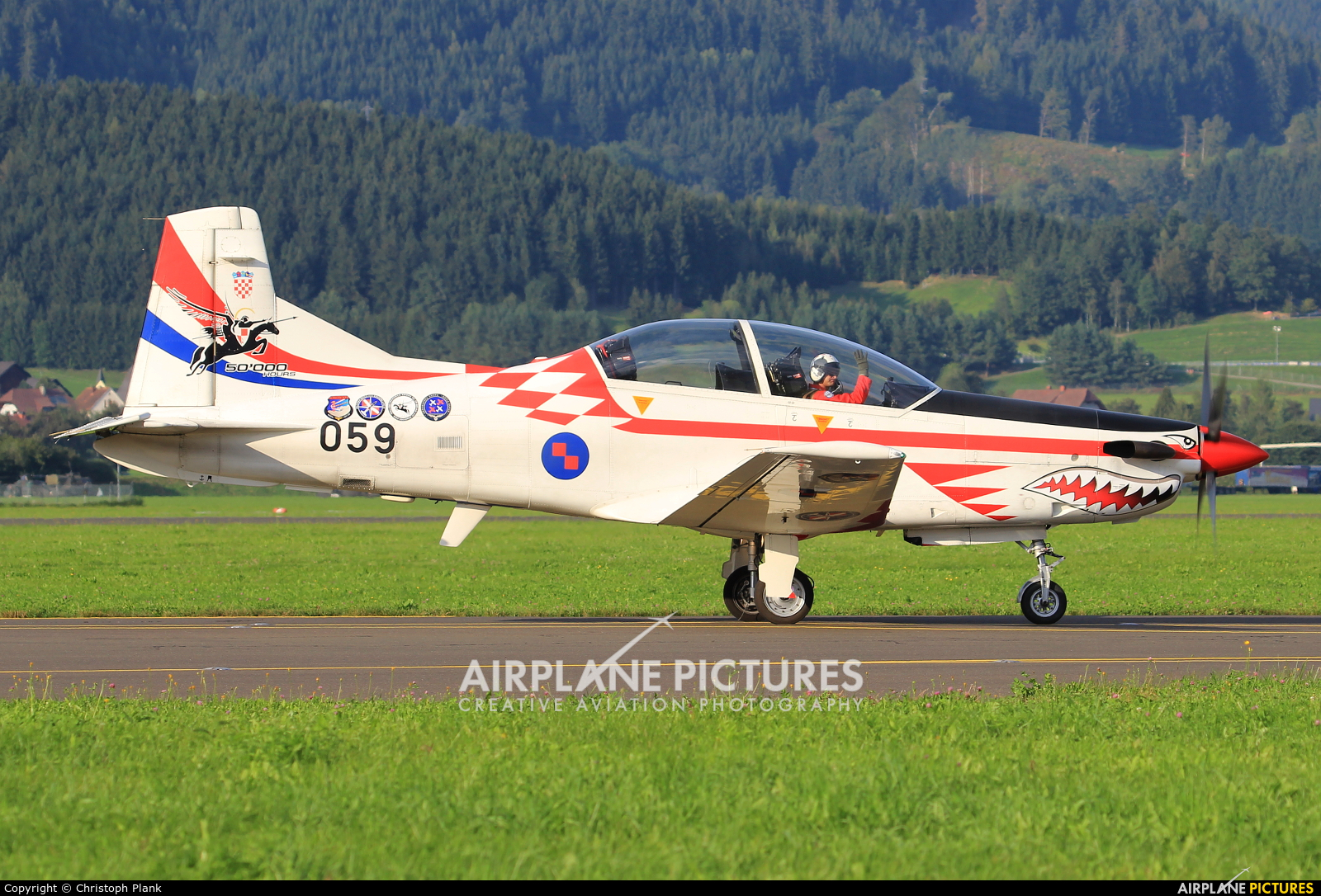 Croatia - Air Force 059 aircraft at Zeltweg