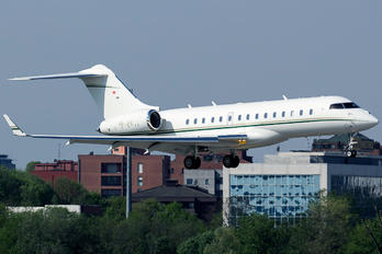 HB-JFE - Private Bombardier BD-700 Global 6000