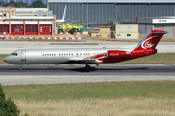 OE-IIB - MJet Aviation Fokker 100