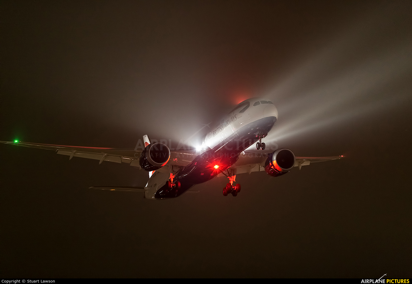 British Airways G-ZBKG aircraft at London - Heathrow