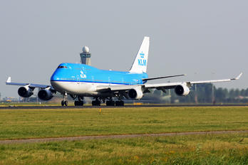 PH-BFE - KLM Boeing 747-400