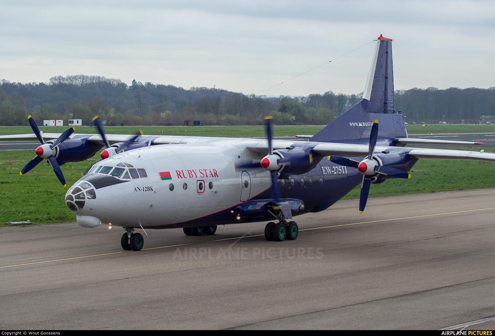 Ruby Star Air Enterprise EW-275TI aircraft at Maastricht - Aachen