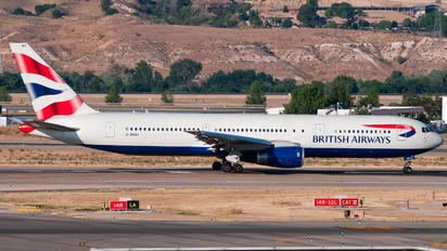 G-BNWV - British Airways Boeing 767-300
