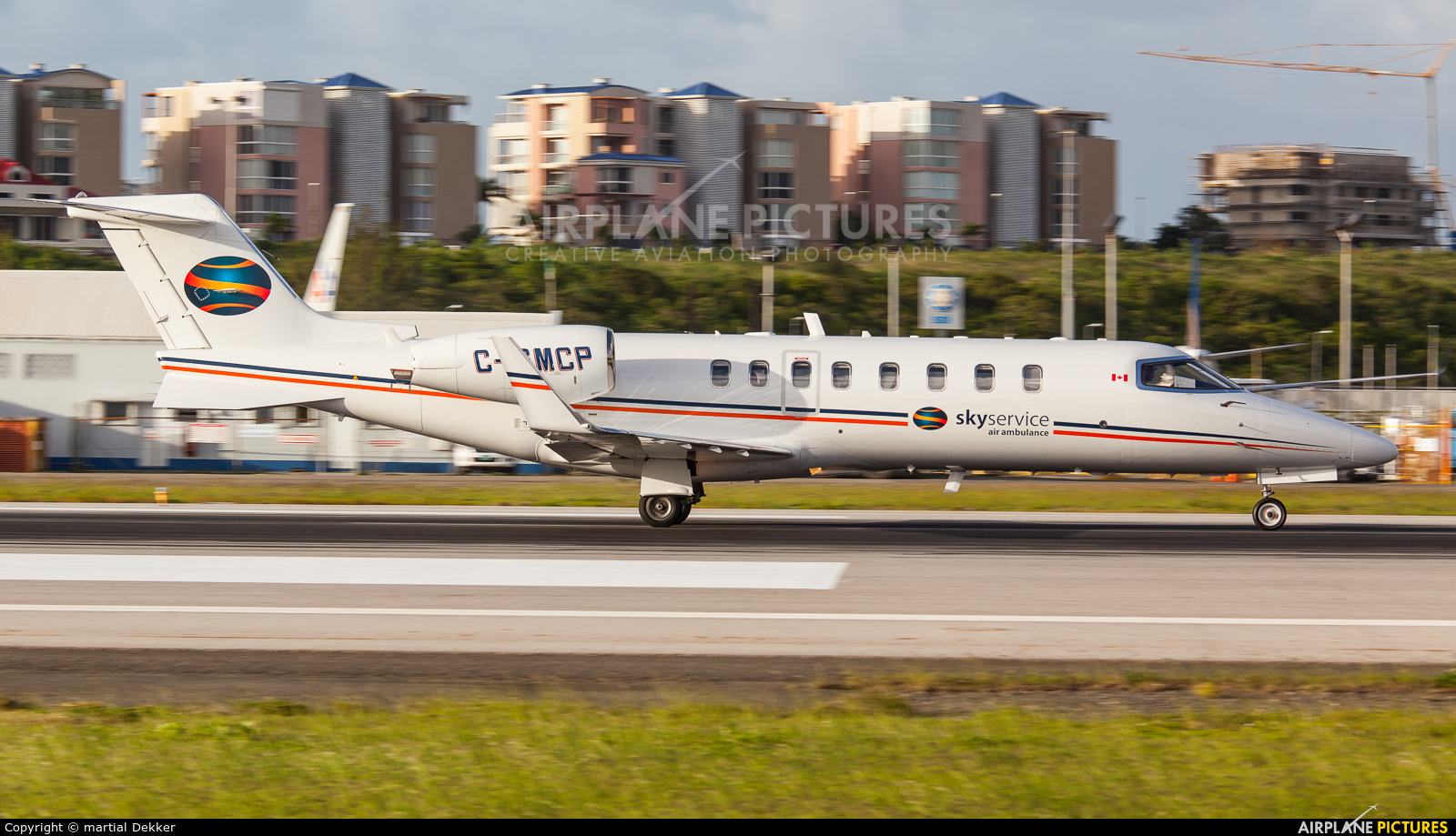 Skyservice Business Aviation C-GMPC aircraft at Sint Maarten - Princess Juliana Intl