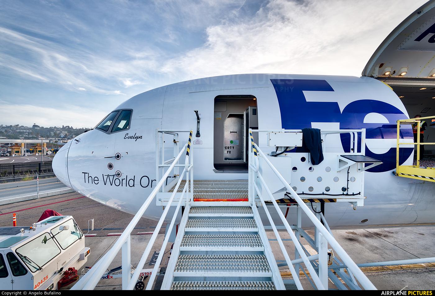 FedEx Federal Express N106FE aircraft at San Diego - Lindbergh Field