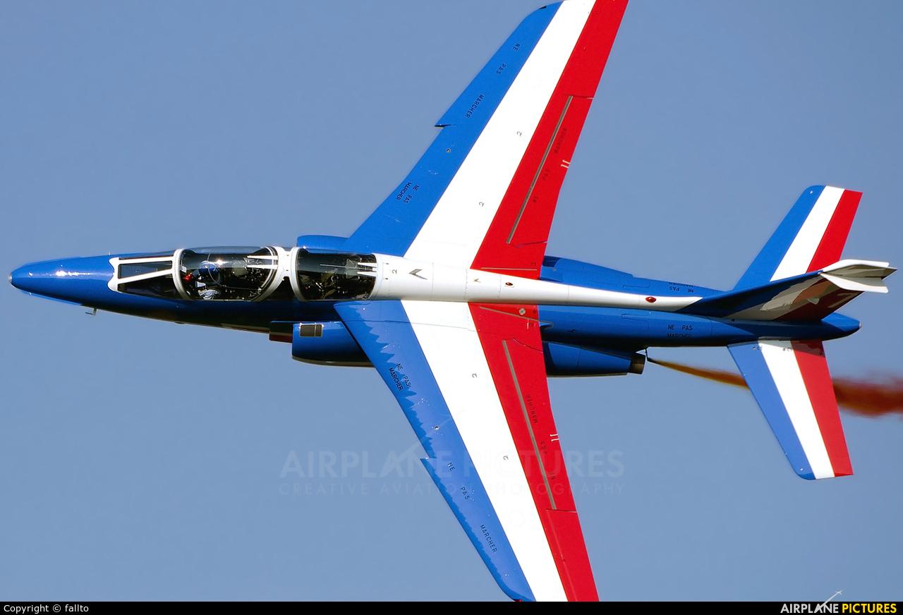 "France - Air Force ""Patrouille de France"" E79 aircraft at Sliač"