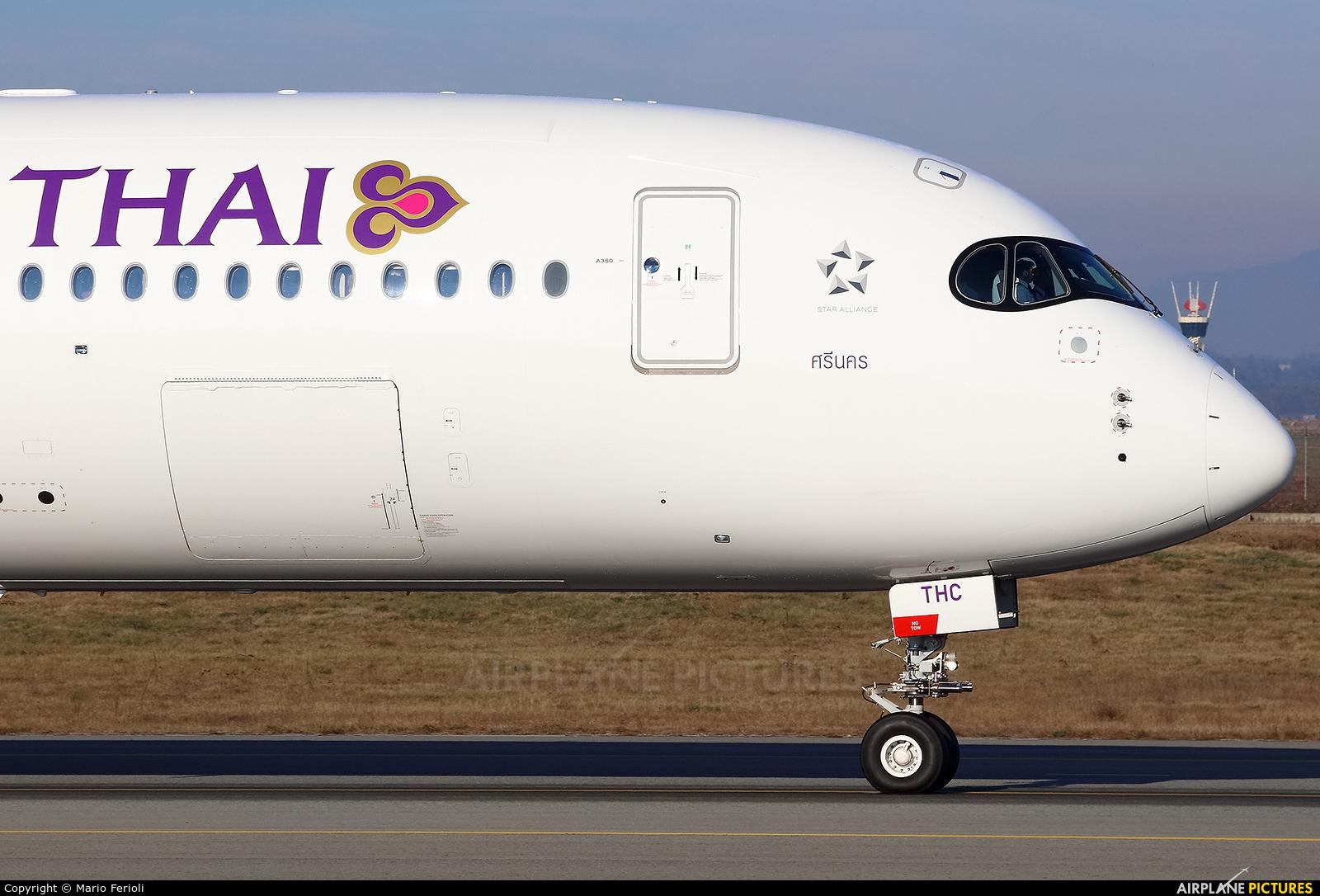 Thai Airways HS-THC aircraft at Milan - Malpensa