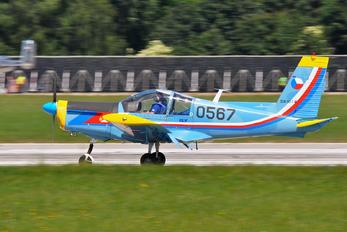 0567 - Czech - Air Force Zlín Aircraft Z-142 C/AF