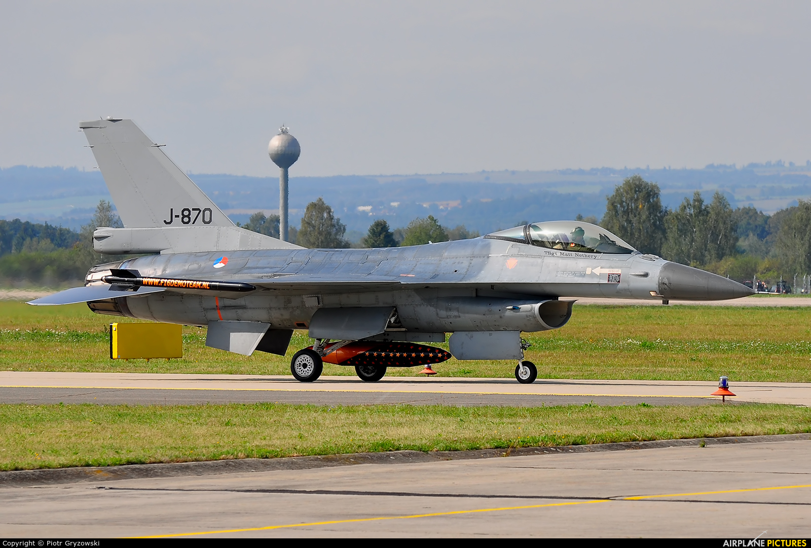 Netherlands - Air Force J-870 aircraft at Ostrava Mošnov