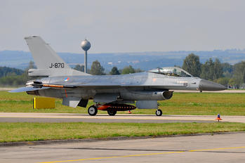 J-870 - Netherlands - Air Force General Dynamics F-16A Fighting Falcon