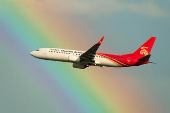 B-1758 - Shenzhen Airlines Boeing 737-800