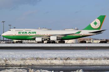 B-16412 - Eva Air Boeing 747-400