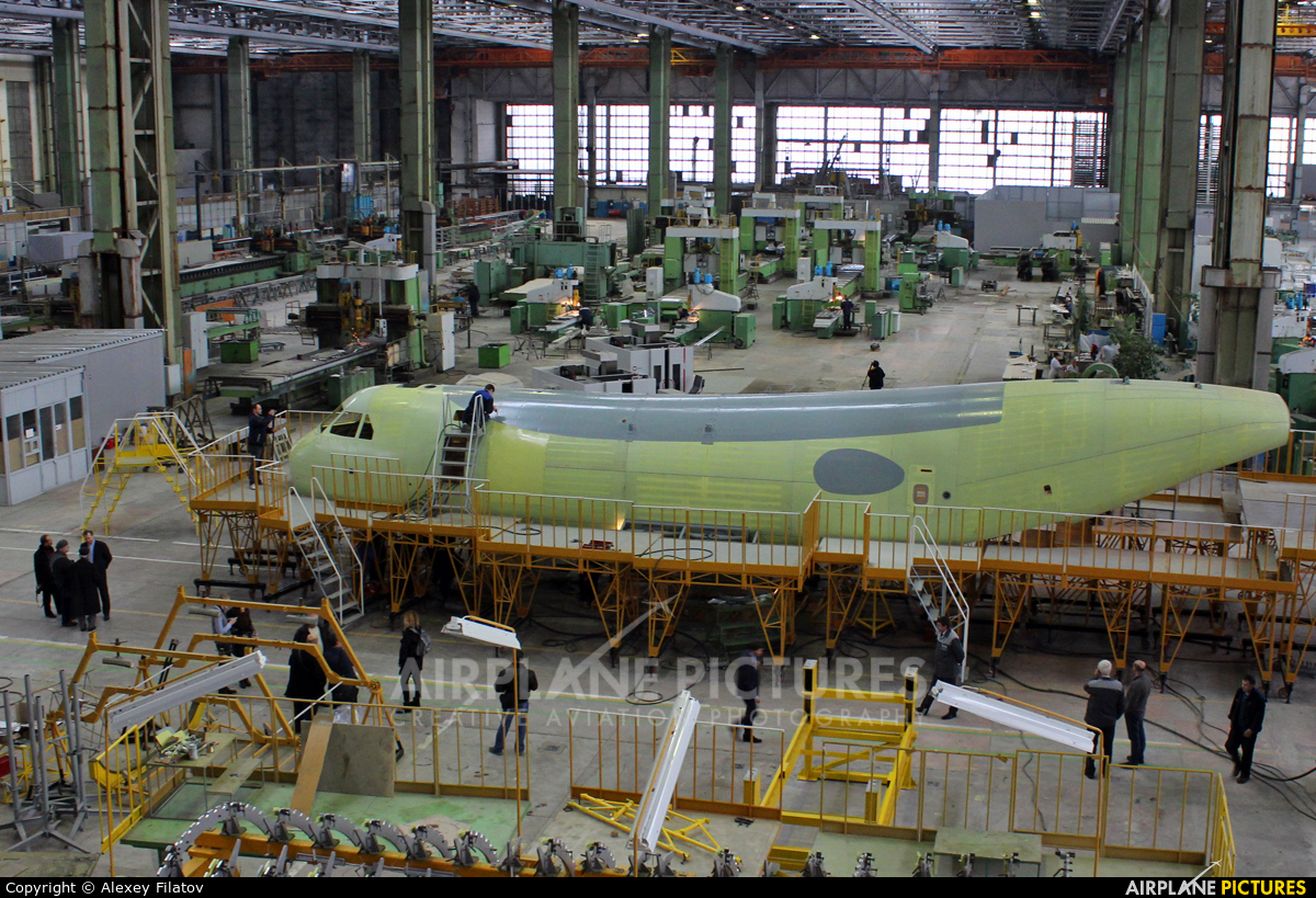 The first prototype of the Il-112V aircraft under construction has received engines 89