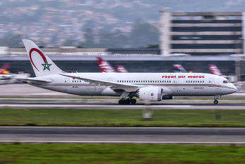CN-RGS - Royal Air Maroc Boeing 787-8 Dreamliner