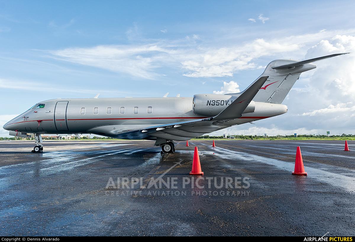 Private N350VJ aircraft at Liberia- Daniel Oduber Quirós Intl